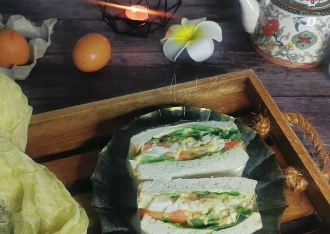 Wanpaku Telur Rebus dan Tuna
