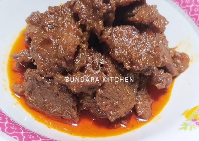 Rendang Daging Sapi (Resep Sederhana) - projectfootsteps.org