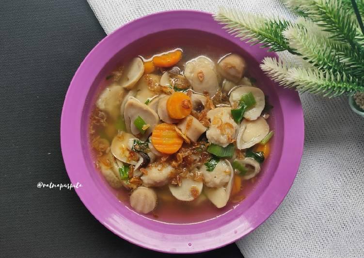 Sop Jamur Kancing
