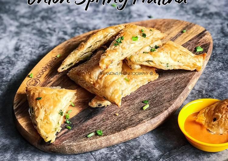 Onion Spring Prattha - resepipouler.com