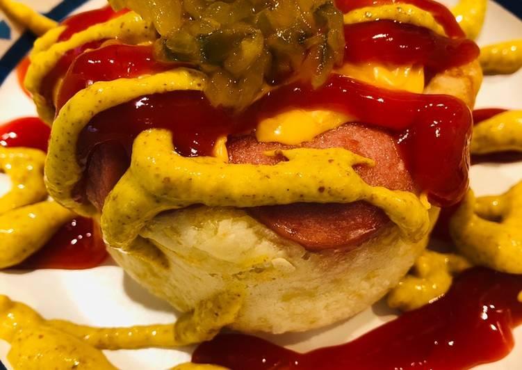 Recipe of Quick Hot Dog 🌭 Muffin Cups