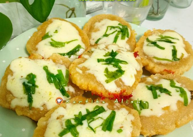 Cireng Kentang Mozzarella | Gamjajeon