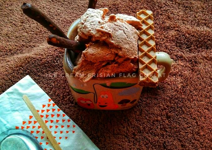 Ice Cream Frisian Flag