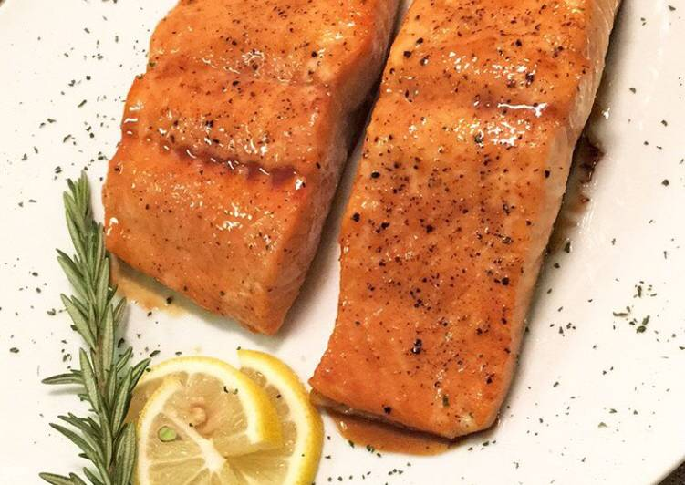 Hennessy Honey Salmon