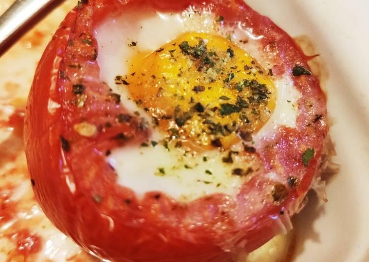 🌺 Oeuf à la coque tomate
