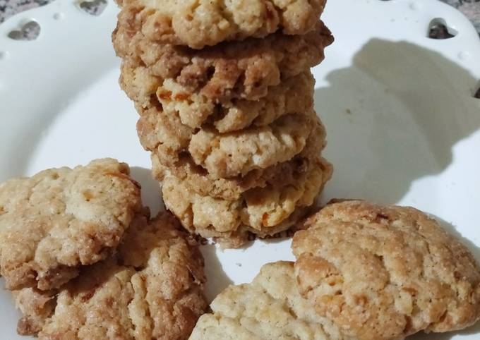Cookies à la cannelle et le zeste des oranges
