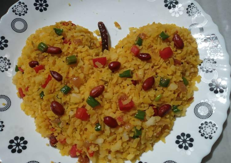 Simple Way to Prepare Perfect Peanut poha