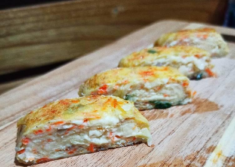 Telur Gulung Keju - cookandrecipe.com