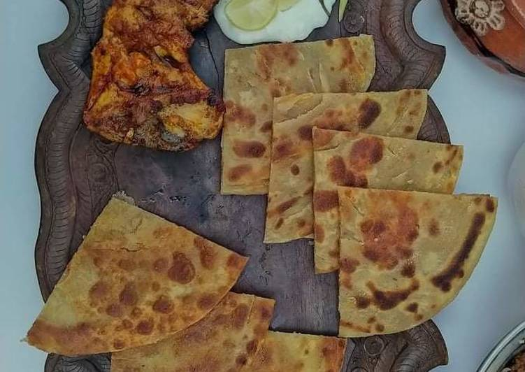 Recipe of Perfect Chicken roste with layered paratha