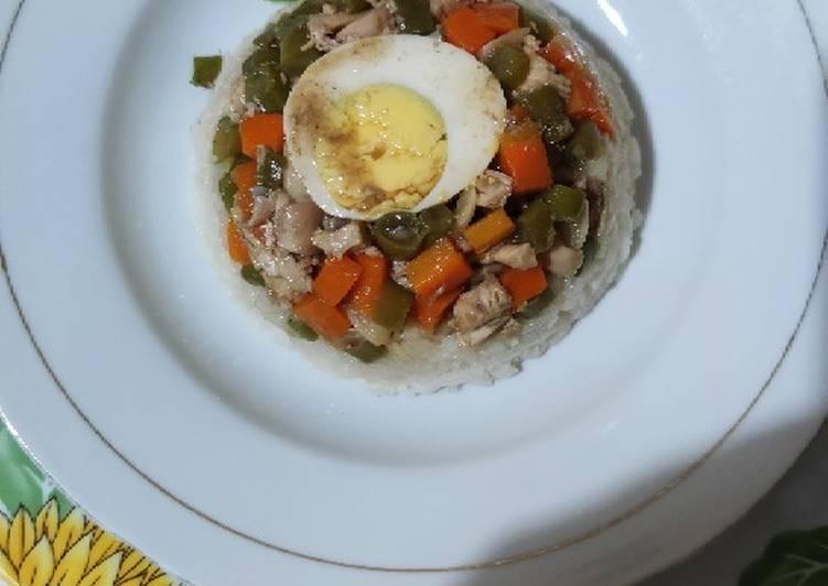Resep Nasi Tim Ayam Anti Gagal