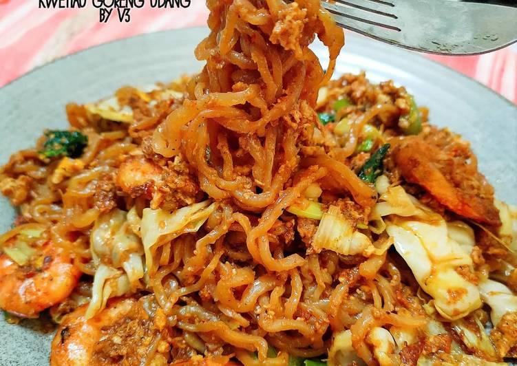 KWETIAU SHIRATAKI UDANG menu diet