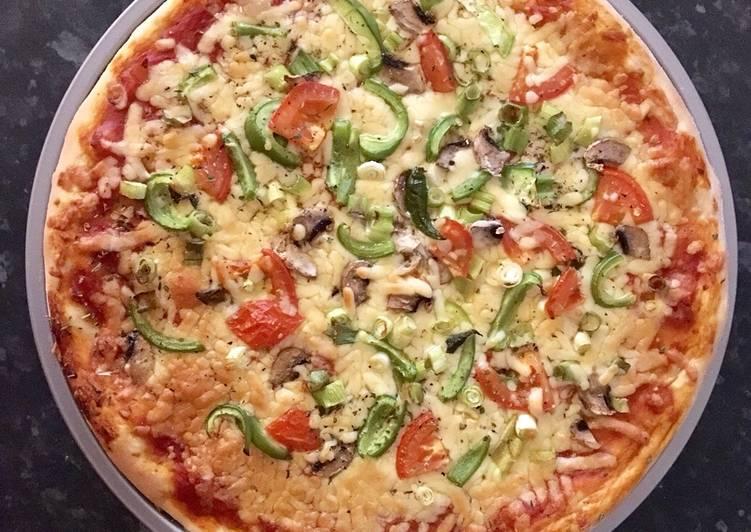 Recipe: Yummy Homemade pizza