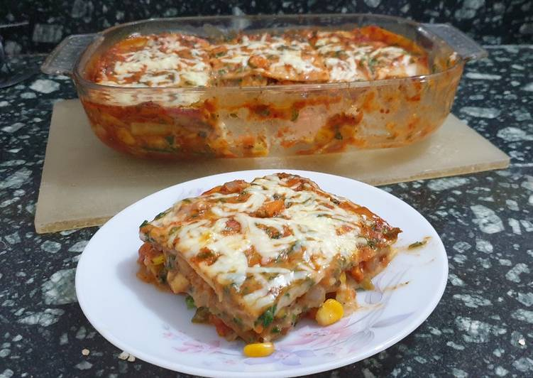 Simple Way to Prepare Quick Vegetable Lasagne