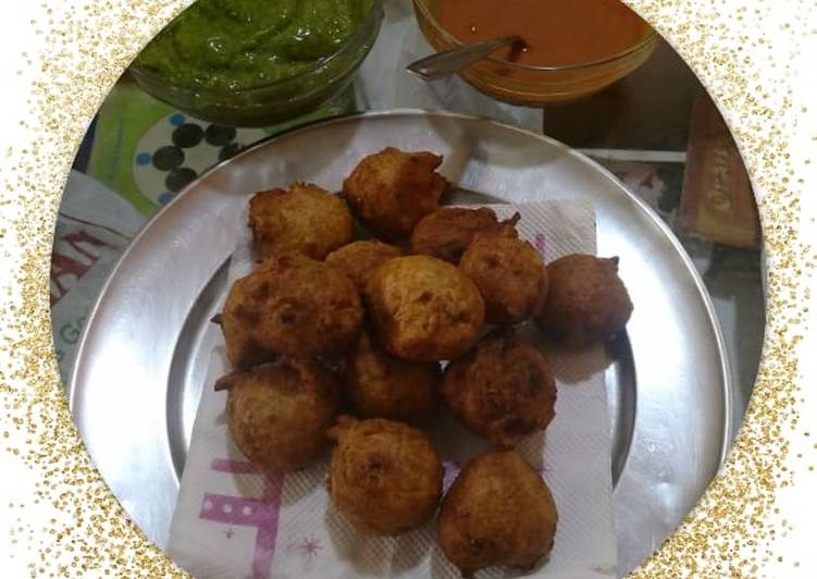 Recipe of Super Quick Homemade Gota pakoda