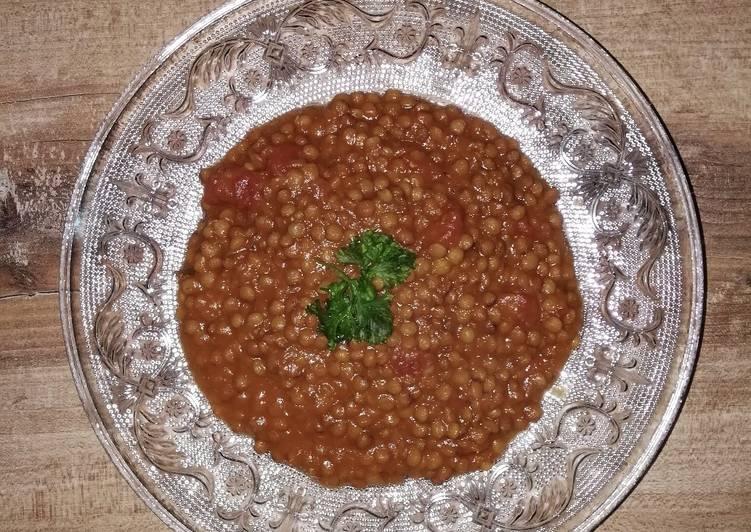 Comment Faire Des Lentilles à la marocaine ou Lahdess