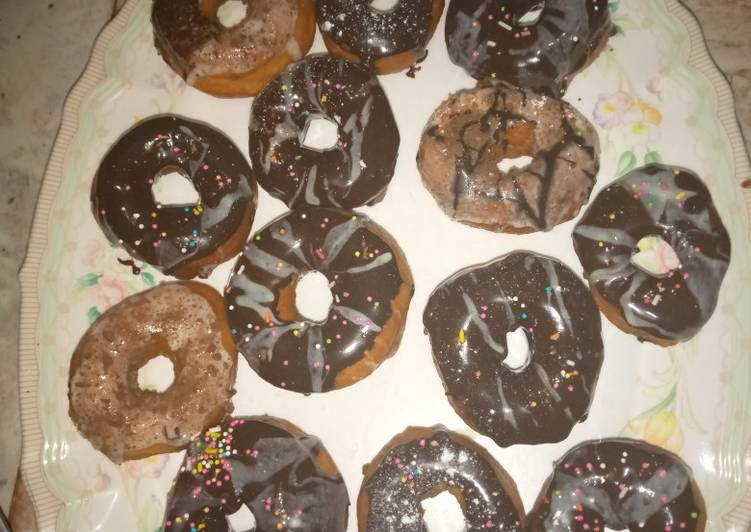 Easiest Way to Cook Appetizing Glazed doughnuts