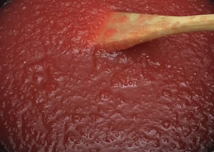 Step-by-Step Guide to Prepare Speedy Red hot apple sauce #mycookbook