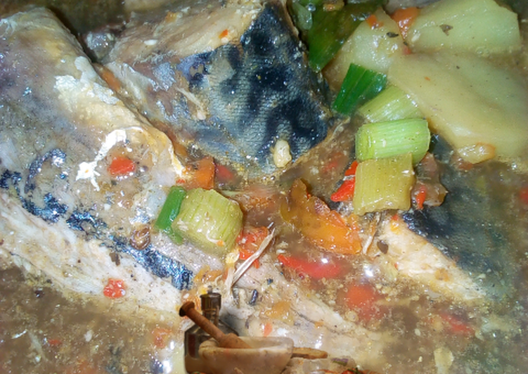Easiest Way to Make Super Quick Homemade Fish pepper soup