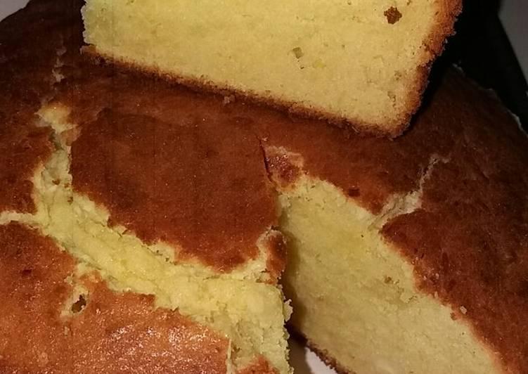 Tapai buttercake