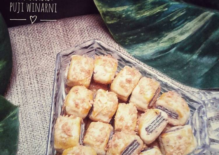 Wafer cheese cookies #Rabubaru