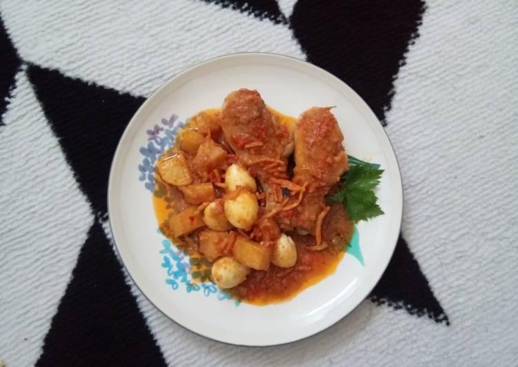 Resep Balado Ayam Pedas Yang Umum Pasti Sedap