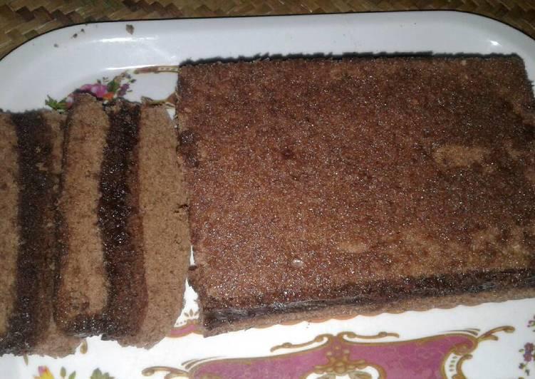 Brownies kukus hemat dn lumer coklat