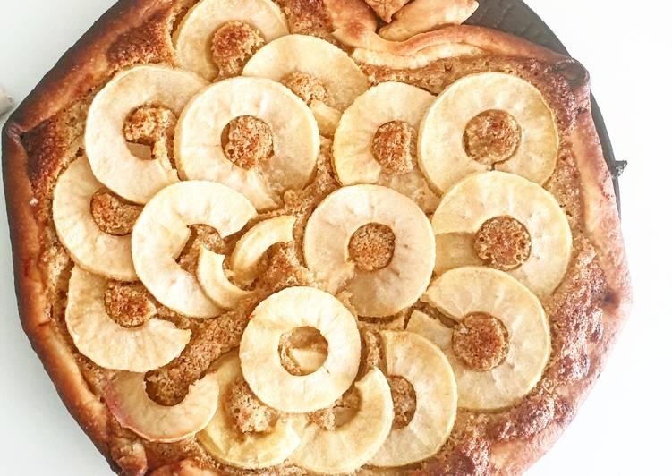 La Meilleur Recette De Tarte pomme amandine