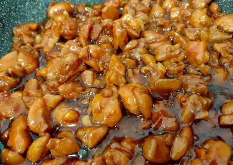Ayam Goreng Mentega ala master chef