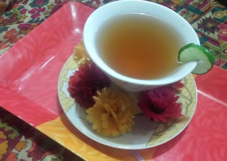 Recipe: Tasty Strong green tea