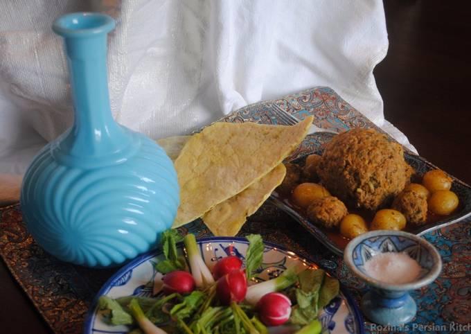 Persian meatball (Kofteh Tabrizi)