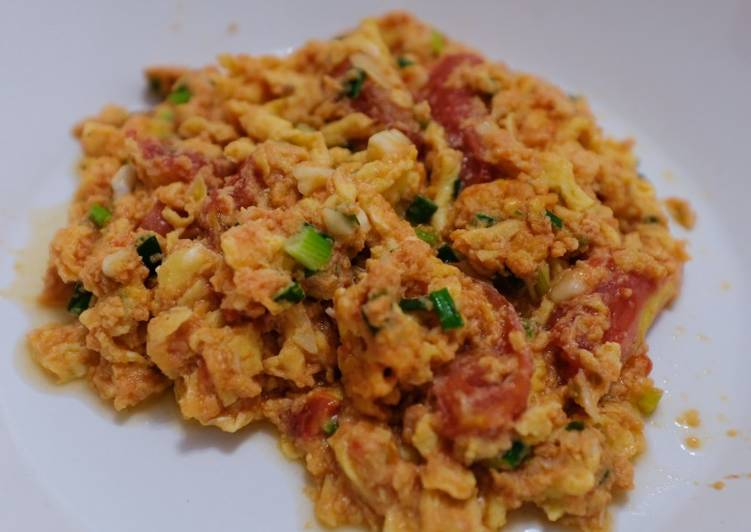 Chinese Tomato Scrambled Egg