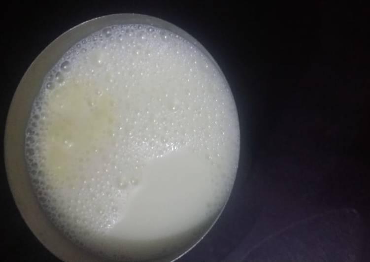 Recipe of Homemade Haldi milk shake