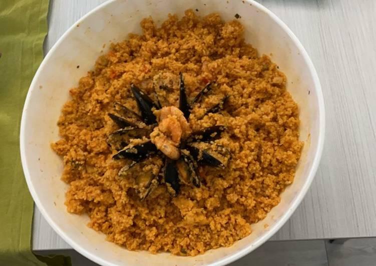 Ricetta Cous cous al sapore di mare