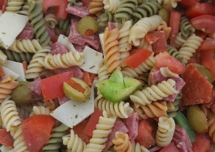 Steps to Prepare Award-winning Pasta Salad