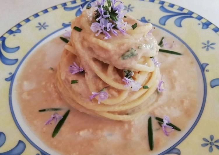 Spaghetti con tonno e rosmarino 🌿