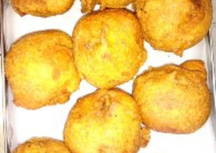Kerala Aloo Bonda with a twist