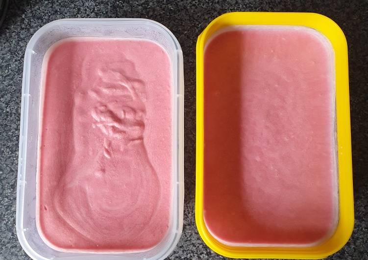How to Make Homemade Raspberry Ice-cream