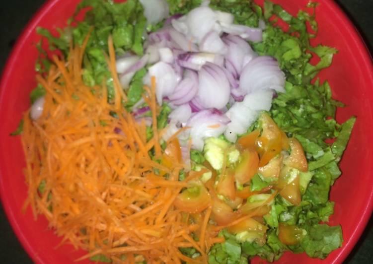Simple Way to Make Speedy Simple Salad