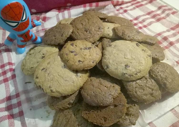 Chocochips cookies (goodtime milo)