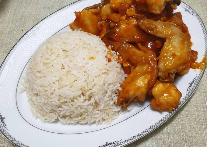 Chinese chicken and rice