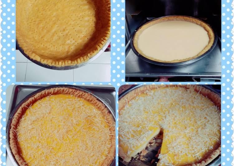 Resep Kue Lontar / Pie Susu Paling Enak