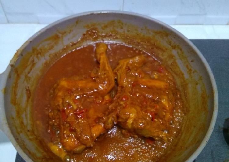 Ayam panggang kecap bumbu kemiri - cookandrecipe.com