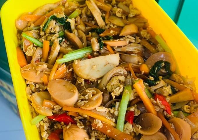 NASI GILA (cocok buat ngabisin stock sayur dikulkas😆)
