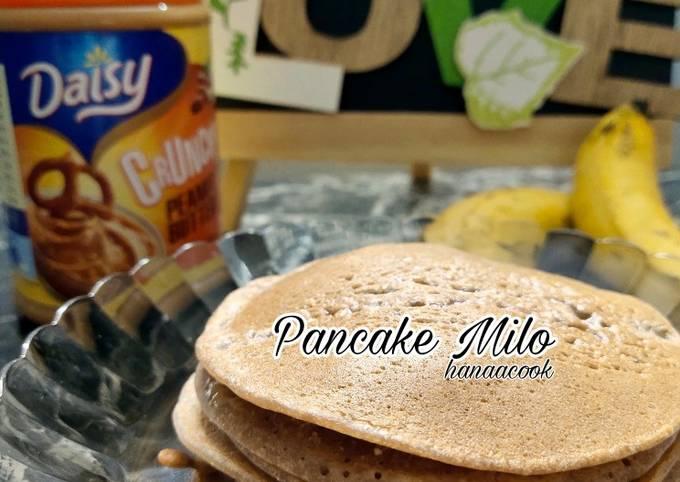 Pancake Milo Tanpa Susu
