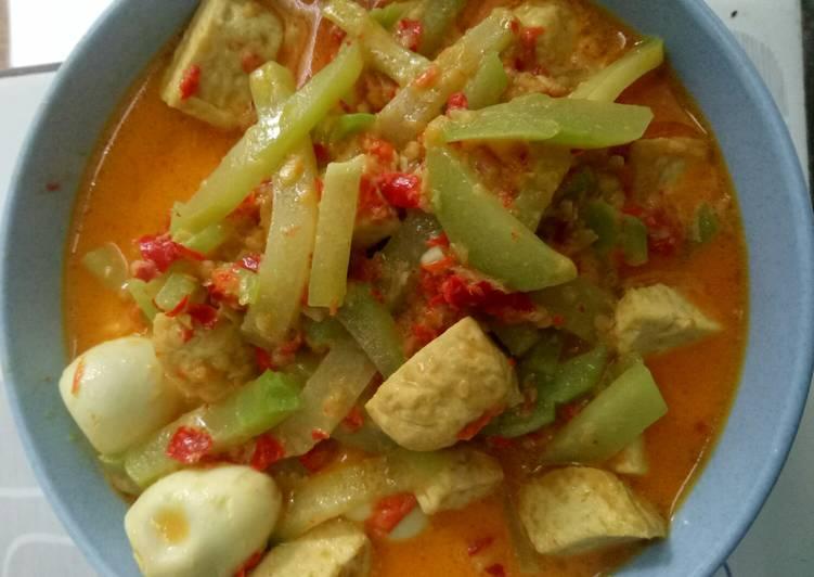 Sayur Santan Labu Siam