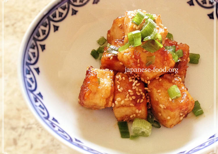 Easiest Way to Make Yummy Easy Sesame Tofu (Vegan/Gluten-free)