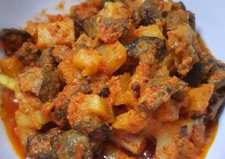 Resep Sambel goreng ati kentang yang Enak Banget