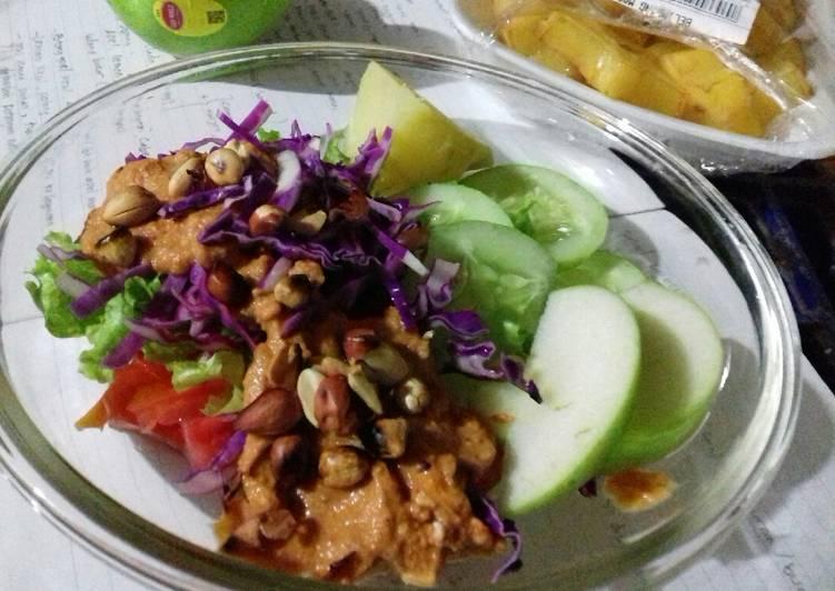 Salad Dressing for Diet Menu a la Dewi Hughes 😊