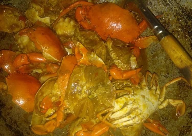 Kepiting saus Padang asam manis pedas