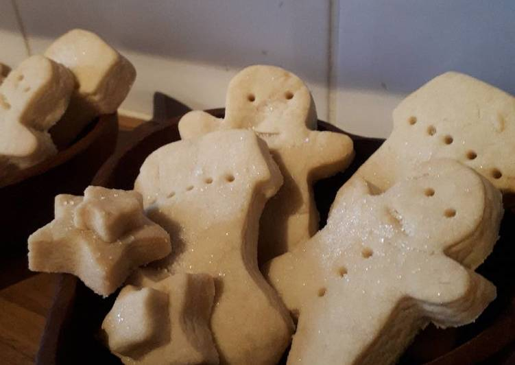 Recipe: Perfect Christmas shortbread